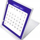 2021 CD-Style Desk Calendar 12 Months Calendar/Planner / (Edition #07)