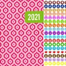 2021 Planner Calendar - with 100 Reminder Stickers - Edition #1