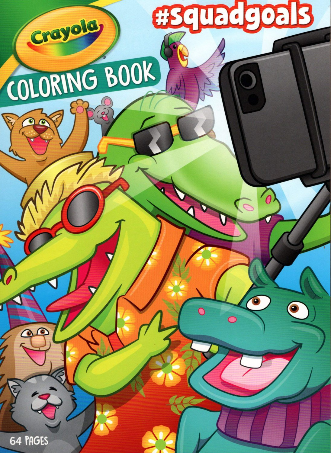 Crayola - Coloring Book - # Squadgoals