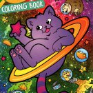 Crayola - Coloring Book - Cosmic Cats and other galactic things