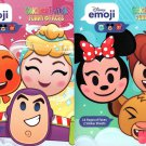 Disney Emoji - StickerTivity - Funny & Faces (Set of 2 Books)