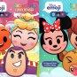 Disney Emoji - StickerTivity - Funny & Faces (Set of 2 Books)
