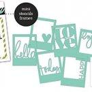 Heidi Swapp Mini Stencils - Shapes