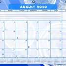 2020-2021 Academic Year 12 Months Student Calendar/Planner for 3-Ring Binder -v013