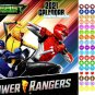 Power Rangers - 12 Month 2021 Wall Calendar - with 100 Reminder Stickers