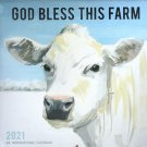"2021 God Bless this Farm - Wall Calendar 12""x 11"""
