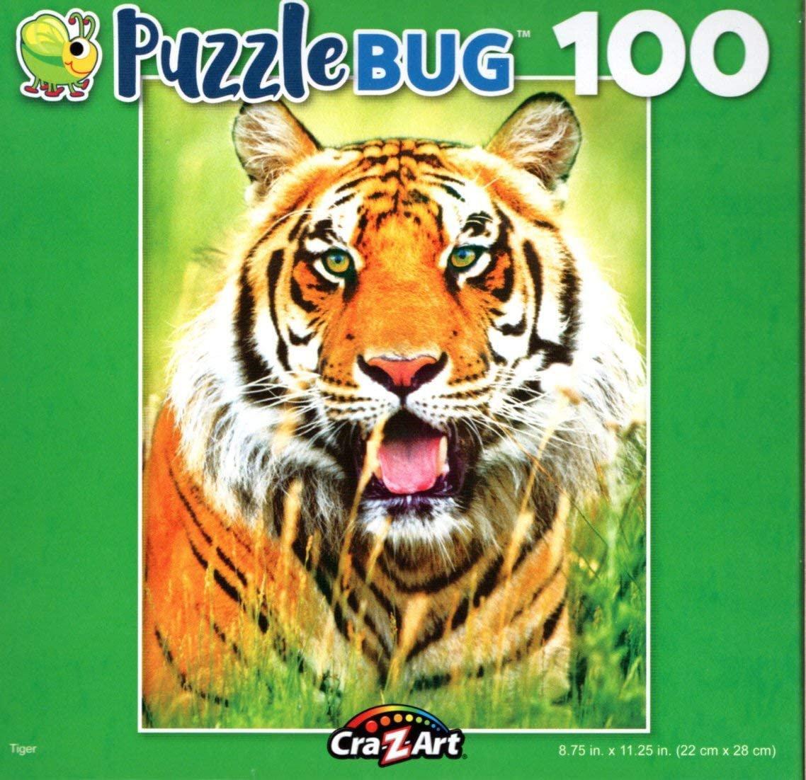 Tiger - Puzzlebug - 100 Piece Jigsaw Puzzle
