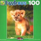 Baby Lion on The Grass - Puzzlebug - 100 Piece Jigsaw Puzzle