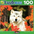 Autumn Wolf - Puzzlebug - 100 Piece Jigsaw Puzzle