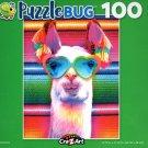 Llamarama - Puzzlebug - 100 Piece Jigsaw Puzzle