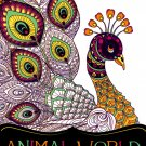 Coloring Books for Adults - Animal World