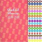 2020-2021 Student Academic Planner Calendar - School College Weekly