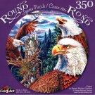 Egles by Steven Michael Gardner  - 350 Piece Round Jigsaw Puzzle