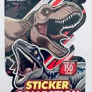 Jurassic World Sticker Collection - Includes Over 150 Stickers - 4 Sheets