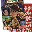 Disney Pixar Toy Story 4 - 200+ Stickers Foil Cover Sticker Pad