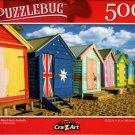 Brighton Beach Huts, Australia - 500 Pieces Jigsaw Puzzle