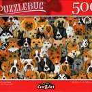Dogs and More Dogs - 500 Pieces Jigsaw Puzzle