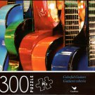 Colorful Guitars - 300 Piece Jigsaw Puzzle