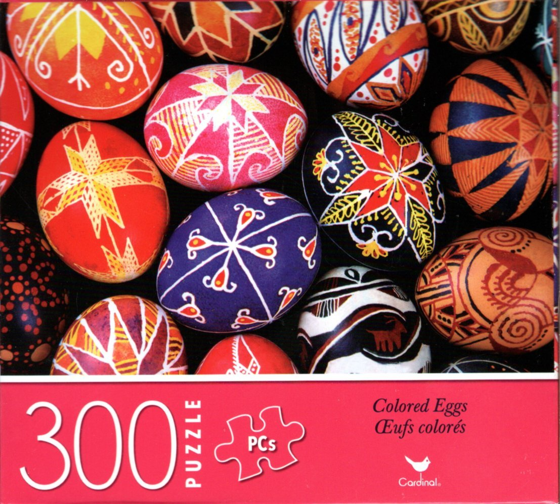 Colored Eggs - 300 Piece Jigsaw Puzzle