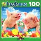 Piggy Pals - Puzzlebug - 100 Piece Jigsaw Puzzle