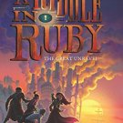 Riddle in Ruby #3: The Great Unravel, A Hardcover Book