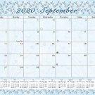 2020-2021 Monthly Magnetic/Desk Calendar - 16 Months - (Edition #18)