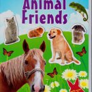 Animal Friends Sticker Activity Book (With Over 70 Reusable Stickers) Animal World