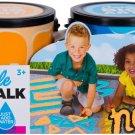 Mattel RoseArt Washable Sidewalk Chalk Paint 2ct Neon ORN/blu