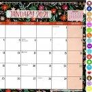 2021 Monthly Calendar - 12 Months Spiral Wall Calendar/Planner + Bonus (Edition #01)