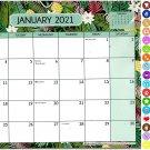 2021 Monthly Calendar - 12 Months Spiral Wall Calendar/Planner + Bonus (Edition #03)