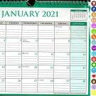 2021 Monthly Calendar - 12 Months Spiral Wall Calendar/Planner + Bonus (Edition #06)