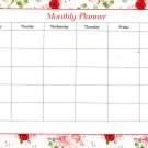 "Desk Pad Magnetic Monthly Planner Calendar 11.7"" X 8.25"" - v1"