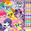 My Little Pony - 16 Month 2021 Wall Calendar - with 100 Reminder Stickers