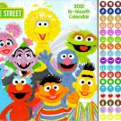 Sesame Street - 16 Month 2021 Wall Calendar - with 100 Reminder Stickers