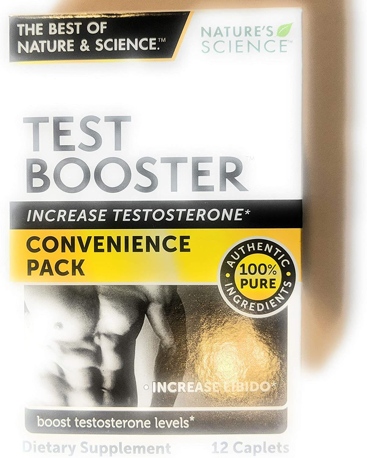 Test Booster - Testosterone Booster - 12 Caplets