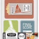 We R Memory Keepers GD62236 Game Day Albums Made Easy Journaling Cards 100-Pkg