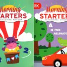 PRE-K & Kindergarten - Morning Starters Educational Workbooks - Set of 2 Books - v4