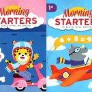 First Grade & Second Grade - Morning Starters Educational Workbooks - Set of 2 Books - v11