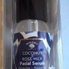 Bolero Coconut + Rose Milk Facial Serum Moisturize Rejuvenate For All Skin Types 1fl oz/30ml