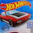 Hot Wheels 2019 Basic Vehicle Volkswagen Series: Volkswagen SP2 - International Long Card