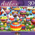 Colorful Balloons in The Sky by Sergio Botero - 300 Pieces Jigsaw Puzzle