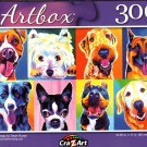 Happy Dawgs by Dean Russo - 300 Pieces Jigsaw Puzzle