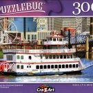 Riverboat on The Cincinnati Waterfront - 300 Pieces Jigsaw Puzzle