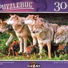 Grey Wolves Pack - 300 Pieces Jigsaw Puzzle
