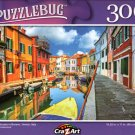 Colorful Houses in Burano, Venice, Italy - 300 Pieces Jigsaw Puzzle