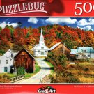 Autumn Rural Countryside, Vermont - 500 Pieces Jigsaw Puzzle