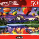 Balloon and Mountain Reflections - 500 Pieces Jigsaw Puzzle
