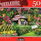 Charming English Cottage in The Garden - 500 Pieces Jigsaw Puzzle