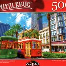 New Orleans Streetcars, Louisiana - 500 Pieces Jigsaw Puzzle