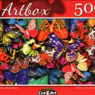 Butterflies III by Sergio Botero - 500 Pieces Jigsaw Puzzle
